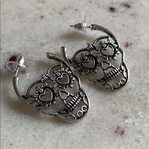 Urban Outfitters Sugar Skull Earrings